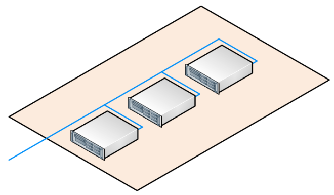 visio isometric background